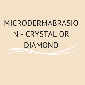 Microdermabrasion - Crystal or Diamond